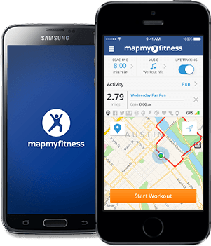 MapMyFitness apps