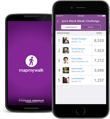 MapMyWalk apps