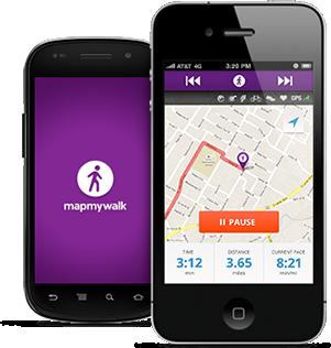 improve your walking mapmywalk