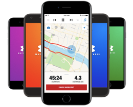 MapMyRide apps
